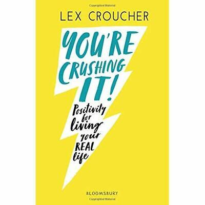 AU32.33 • Buy You're Crushing It: Positivity For Living Your REAL Lif - Paperback / Softback N