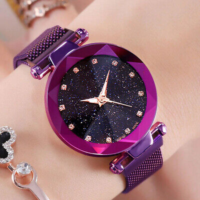 AU9.99 • Buy New Brand Mesh Magnet Band Luxury Jewelry Gifts Quartz Watch For Women Watches