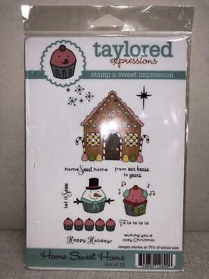 Taylored Expressions  Home Sweet Home  - Holiday, Christmas, Gingerbread House • 10$