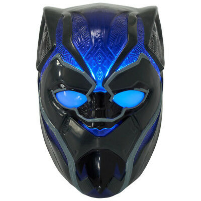 $7.99 • Buy 1 Black Panther Warrior King Mask Decoset Birthday Cake Topper Party Decoration