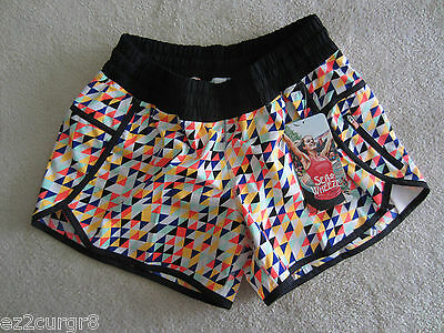 $ CDN399.99 • Buy Seawheeze Lululemon Track Attack Short Geometric Mosaic Stained Glass 10