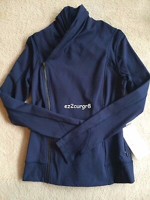 $ CDN249.99 • Buy Lululemon Bhakti Yoga Jacket Deep Navy Sz 8 Or 10