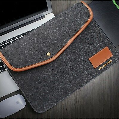 $12.21 • Buy For 2018 Newest MacBook Pro 13 Touch Bar Laptop Wool Felt Sleeve Case Cover Bag