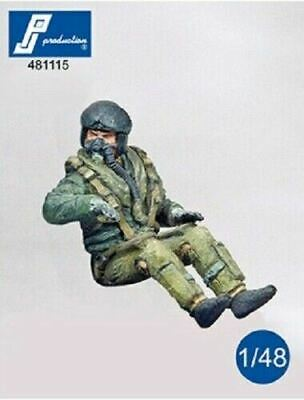 PJ Production 481115 1/48 Modern RAF Pilot Seated In Aircraft Resin Figure • 6.75£