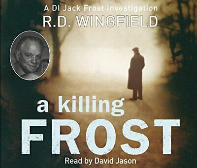 A Killing Frost: (Di Jack Frost Book 6) By Wingfield, R D CD-Audio Book The • 5.99£