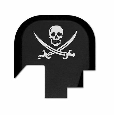 $15.19 • Buy Rear Slide Gun Back Butt Plate Cover For Smith Wesson M&P 9/.40 Shield - Pirate