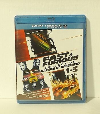 $ CDN16.99 • Buy Fast & Furious Collection 1 2 3 (Blu-ray Disc, Digital, Canadian) NEW REGION A