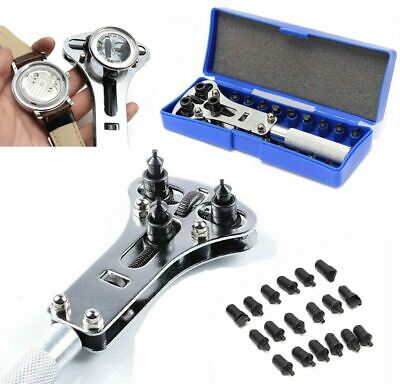 $ CDN7.72 • Buy Watch Band Back Case OPENER Repair Tool Kit Battery Screw Cover Remover 17-37 Mm