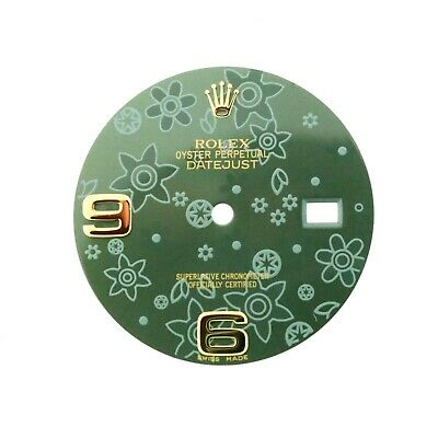 $ CDN461.36 • Buy Rolex Green Floral Dial For 36m Datejust 116233 116203 116238 116208