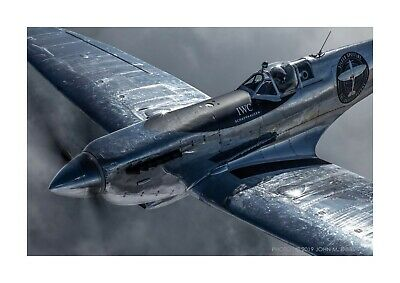 £6.99 • Buy Silver Spitfire A4 Reproduction Picture Photograph Poster With Choice Of Frame