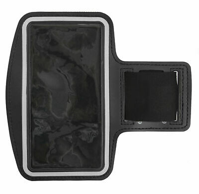 Black Sports / Running / Jogging / Gym Armband Case For Sony Xperia 10 • 8.99£