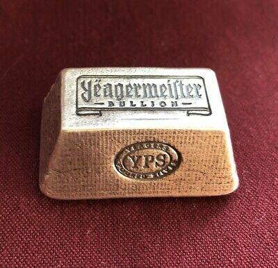 $ CDN226.55 • Buy 5oz Yeagermeister Bullion  Truncated Pyramid  By Yeager's Poured Silver - 999+