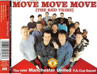 Manchester United Football Team - Move Move Move (The Red Tribe) - CD Single • 0.99£