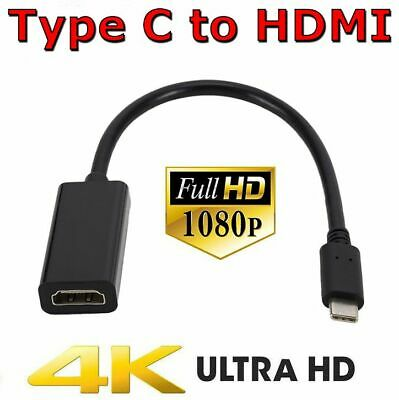 AU9.25 • Buy Type C 3.1 To HDMI Adapter USB-C Cable 4K Converter For MacBook Pro Air HD TV