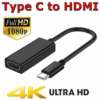 AU8.95 • Buy Type C 3.1 To HDMI Adapter USB-C Cable 4K Monitor Converter For MacBook Pro Air