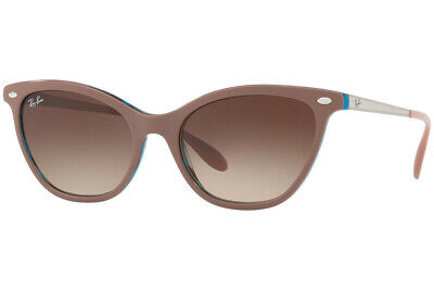 $104.95 • Buy Ray-Ban Sunglasses RB4360 123513 54mm Light Brown - Havana Blue / Brown Gradient