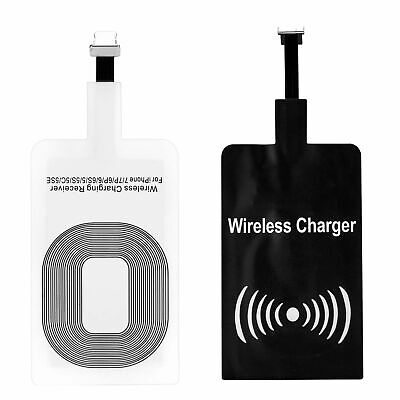 $ CDN3.78 • Buy QI Wireless Charger Receiver For Samsung Huawei Android IPhone Type-C Micro USB