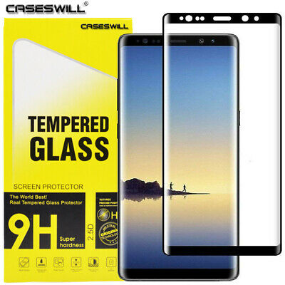 $ CDN5.03 • Buy For Samsung Galaxy Note 9 / Note 8 FULL COVER 3D Tempered Glass Screen Protector