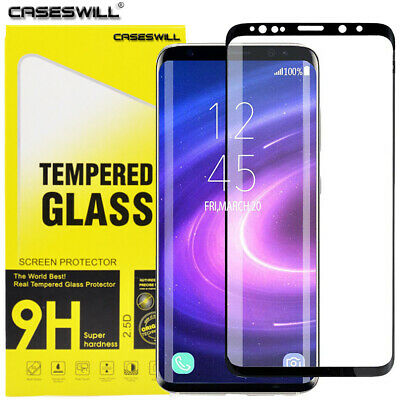 $ CDN5.04 • Buy For Samsung Galaxy S9 S8 Plus - FULL COVER 3D Tempered Glass Screen Protector