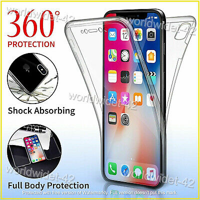 Case For Apple IPhone 8 7 6S XR XS MAX SE 12 PRO ShockProof 360 Hybrid Silicone • 3.09£