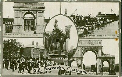 CHATHAM Royal Engineers Barracks. Lily Thacker Posted 1924     QX.1078 • 3.99£