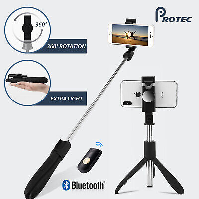 AU19.95 • Buy Bluetooth Extendable Selfie Stick Handheld Tripod Remote 360° For IPhone Samsung