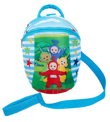 Teletubbies Backpack + Detachable Safety Reins Harness Boys Girls Kids Toddler • 14.95£