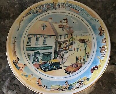 RINGTONS 'Sea Side Days' Superb Decorative Limited Edition Collectors Plate 1996 • 5.50£