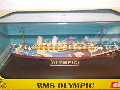 Model Ship Olympic  Dazzle Troop - TITANIC SISTER White Star Line Metal 1:1750 • 16.99£