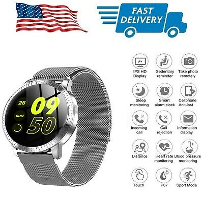 AU45.12 • Buy Smart Watch Bracelet With Weather Pedometer Call Text Email Social Notifications