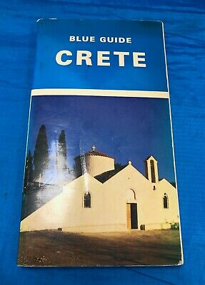 Blue Guide  Crete  1st Edition 1974 Paperback Guide Book • 8£