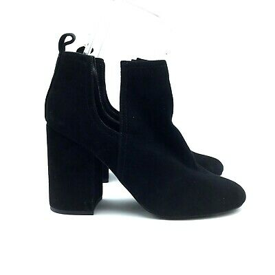 17ae51852b2 steve madden black suede boots 9