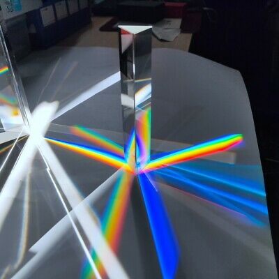 $13.95 • Buy Crystal Prism 30*30*150mm Optical Glass Triangular Prism Spectrum Photography
