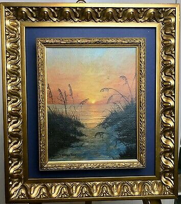 $ CDN334.10 • Buy Original Double-framed Oil Painting Esther Tuck