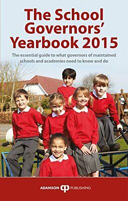 The School Governors' Yearbook 2015 By Stephen Adamson Book The Cheap Fast Free • 5.49£