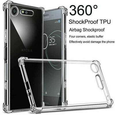 AU15.59 • Buy Crystal Clear Rubber Back Cover Case For Sony Xperia10 Plus XA1/2 XZ2 Compact L3