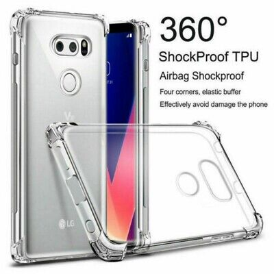 AU14.99 • Buy Crystal Clear TPU Protection Case Cover For LG Stylo4 V50 G7/8 K10/40 Q60 Ls775