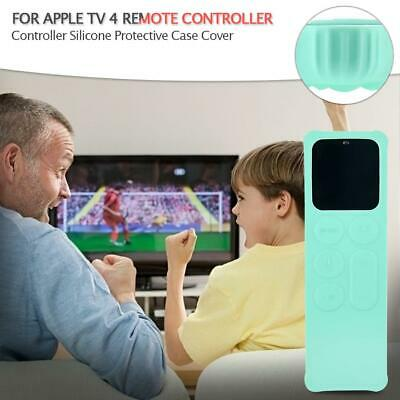 AU8.94 • Buy TV Controller Silicone Protective Case Cover For Apple TV 4 Remote Controller
