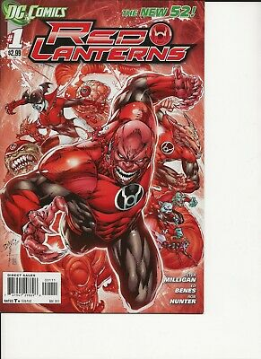 $ CDN13.41 • Buy RED LANTERNS #1, 2 , 3 DC NEW 52 N52 First Prints Fine Or Better, Lot Of 3 Books