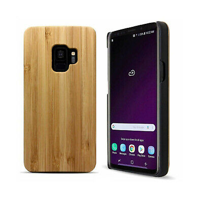 AU13.99 • Buy Premium Bamboo Wood Wooden Phone Case For Samsung Galaxy Note S8 Plus S9 Plus
