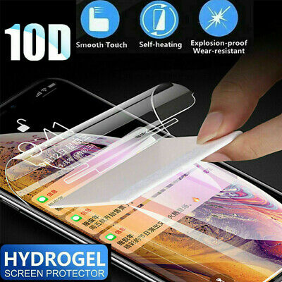 AU18.99 • Buy Fr IPhone XS MAX XR X/XS 7/8+ 360°Full Clear Front+Back Protector Hydrogel Film