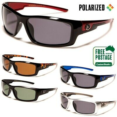 AU21.95 • Buy Men's Polarized Sunglasses - Nitrogen - Wrap Around Frame - Polarised Lens