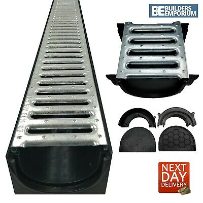 £12.99 • Buy Channel Drainage HEAVY DUTY STEEL Muffel 4All 100x70 (1.5t) GALVANISED Grating