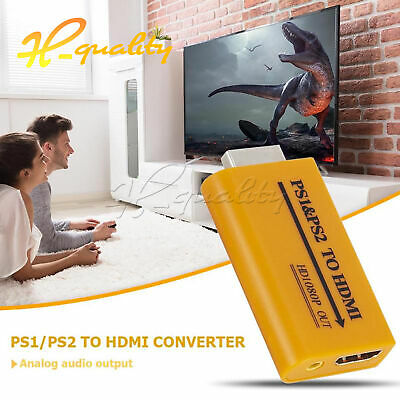 PS1/PS2 USB To HDMI Converter Projector HD 1080P Audio Video Output Adapter • 6.71£