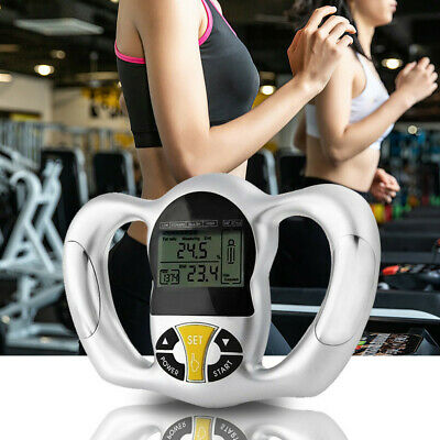 Quality Held Body Fat Loss Monitor Measure Fitness Mass BMI Analyzer Diet Track • 15.52$