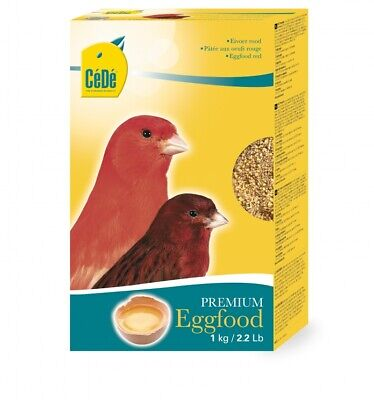 £13 • Buy Cede Red Eggfood Supplementary Food For Colour Canaries And Red Factor Birds