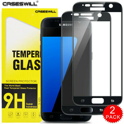 $ CDN5.16 • Buy For Samsung Galaxy S7 - FULL COVER 9D Tempered Glass Screen Protector [2-Pack]
