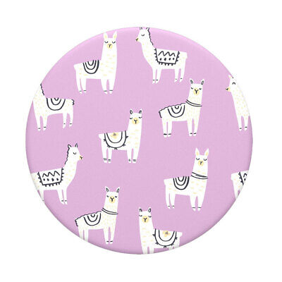AU15 • Buy PopSockets Lotsa Llama Swappable Top For Pop Socket Base Grip/Stand PopGrip Pink