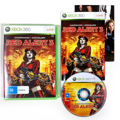 AU11.95 • Buy Command & Conquer: Red Alert 3 Xbox 360 With Manual And Poster