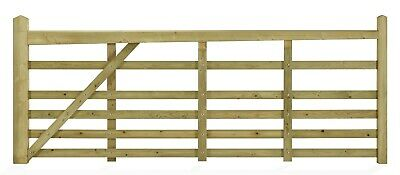 £407.95 • Buy Windsor 6 Bar Softwood Gate - Designed For People With Pets